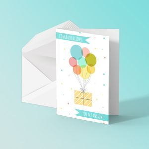 A5 Greeting Cards - Silk