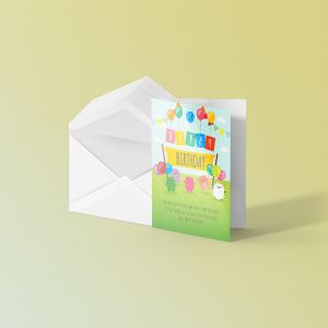 A6 Greeting Cards - Laminated
