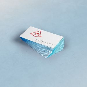 Triple Business Cards